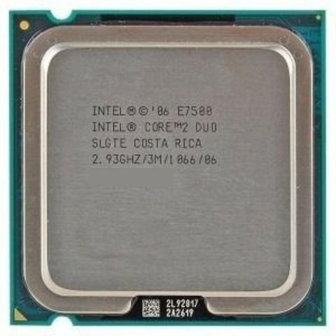 Processador Core 2 Duo 2.93 Ghz E7500