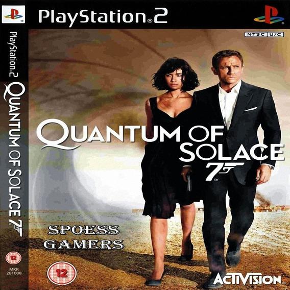 007 Quantum Of Solace James Bond Ps2 Desbloqueado Patchs