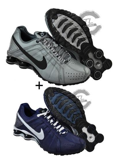 Tenis Nike Sxhox Junior 4 Molas Novo Promoção Kit 2 Pares