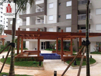 Apartamento Com 2 Dormitórios Para Alugar, 55 M² Por R$ 1.750/mês - Condomínio E Iptu Incluso - Vila Augusta - Guarulhos/sp - Ap1065