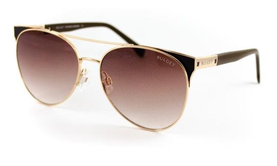 Óculos De Sol Bulget - Bg3248 01a - Dourado