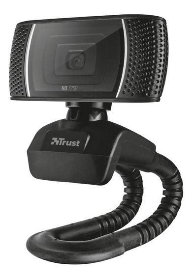 Webcam Hd De 720 P Modelo Trino Con Micrófono - Trust