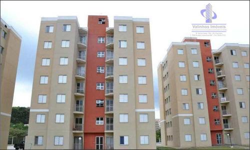 Apartamento Com 2 Dormitórios À Venda, 48 M² Por R$ 235.000,00 - Condomínio Residencial Bosque Do Frutal - Valinhos/sp - Ap0557