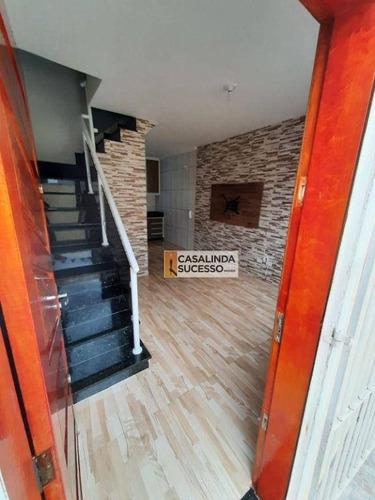 Imagem 1 de 30 de Sobrado Para Alugar, 65 M² Por R$ 1.650,00/mês - Vila Cisper - São Paulo/sp - So1238