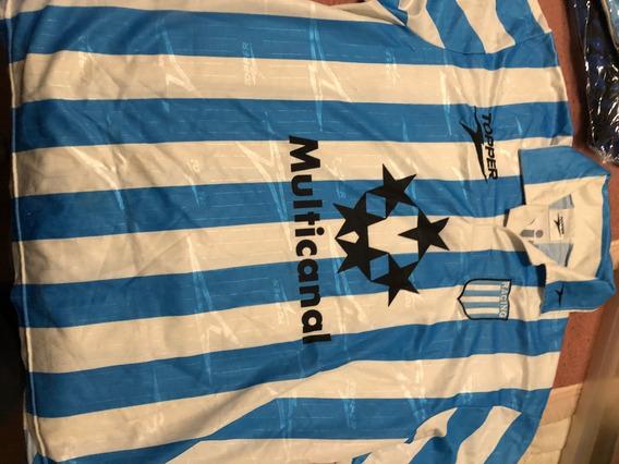 Camiseta De Racing Club Topper Año 1997 Multicanal De Epoca