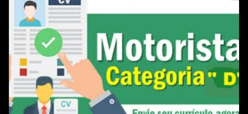 Emprego De Motorista/turismo/logística