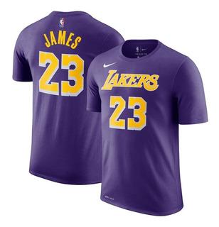 Camiseta Nike #23 Lebron James - L A Lakers - Original Nba
