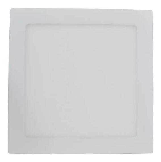 Painel Plafon Luminaria Teto Sobrepor Quadrado Led 24w Laje