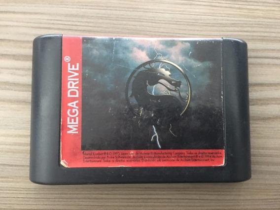 Fita Cartucho Jogo Mega Drive Mortal Kombat Ii Original
