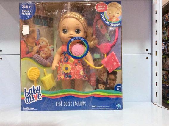 Baby Alive Bebê Doces Lágrimas Ref C0957