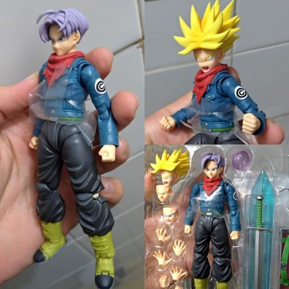 Custom Trunks Futuro Dragon Ball Super S.h.figuarts Bandai