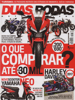 Duas Rodas N°493 Yamaha Neo 125 Harley Ultra Limited Cvo