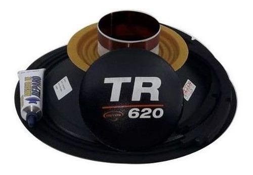 Imagem 1 de 3 de Kit Reparo Alto Falante Triton Tr 620 Rms 12 8 Ohms Original