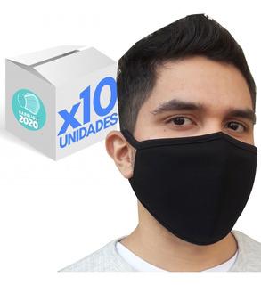 Barbijo Tapaboca Máxima Proteccion Caja X10 Unidades Oferta