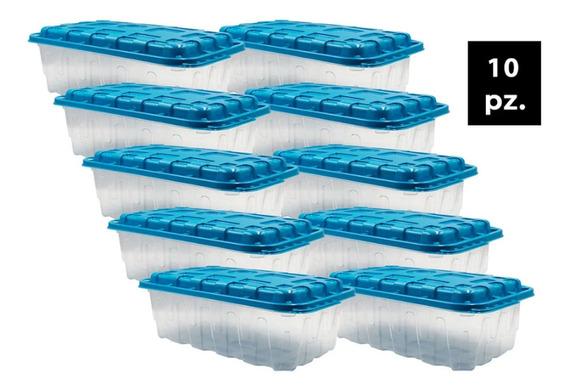 Caja Para Zapatos Shoe Box Libre De Bpa 10 Pzs Mr Fresh
