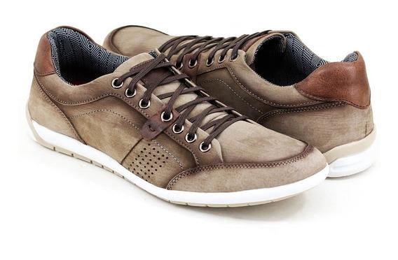 Sapatênis Sapato Casual Tênis Promoção + Cinto De Couro Oof