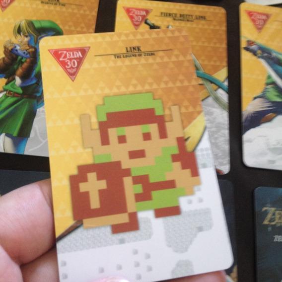 Amiibo Cards Zelda 22 Amiibos Melhor Qualidade