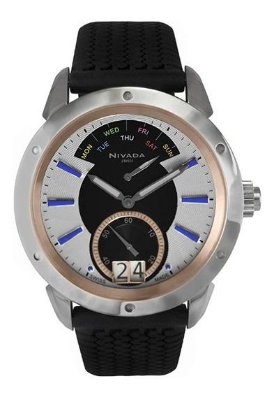 Reloj Nivada Diplomat Nvng30771gacbi Hombre Original E-watch