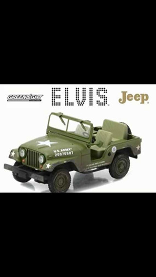 Elvis Jeep M-38a1 Greenlight 1/43