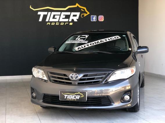 Toyota Corolla 1.8 - 2012 - Automático - Completo