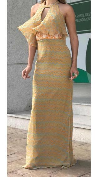 Vestido Longo Seda Bárbara Bela