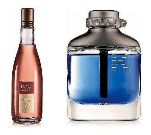 Perfume K Eau De Parfum + Frescor De Ca - mL a $280