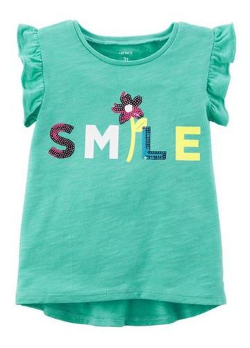 Imagem 1 de 1 de Camiseta Carter's - Smile