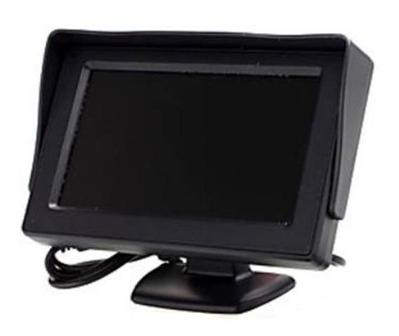 Monitor Portatil 4.3 12v Entrada Rca - Cftv - Camera De Re