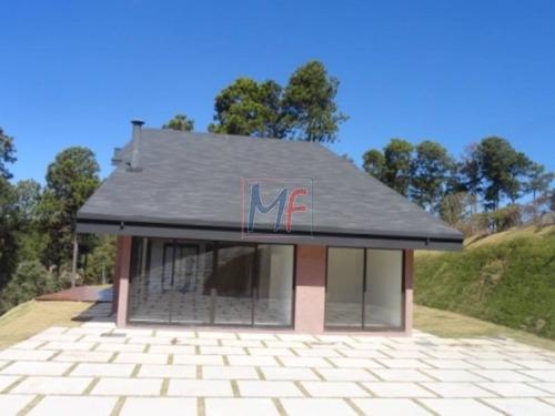 Imagem 1 de 16 de Ref 11.353 Casa Condomínio Iporanga, Sendo 5 Suítes, 6 Vagas, Com 420 M² A.c. , 2000 M² Total, Estuda Permuta De Terreno E Propostas. - 11353