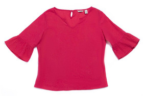 Escoge Tu Blusa Dockers® Mujer Rule Sleeve Hem Blouse