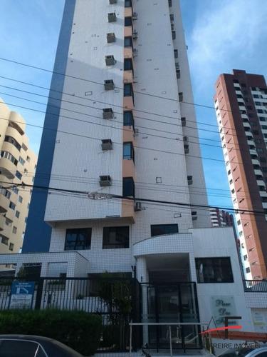 Imagem 1 de 12 de Apartamento Mobiliado, Com 4 Quartos, Próximo Ao Parque Do Cocó - Código: Ap5822