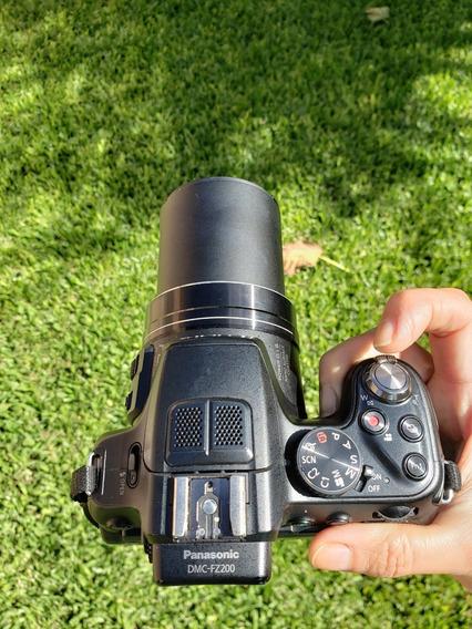Camara Digital Panasonic Lumix Dmc Fz 200 Lente Leica