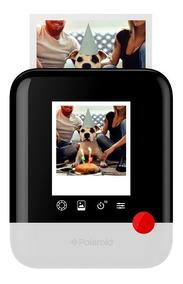 Câmera Polaroid Pop Instant Print Azul Touchscreen Promoção