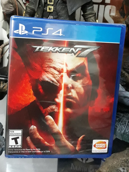 Jogo Tekken 7 Playstation 4 Mídia Física Novo E Lacrado