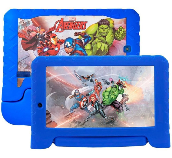 Tablet Disney Vingadores Plus Wifi 8gb Android 7 Dual Nb280