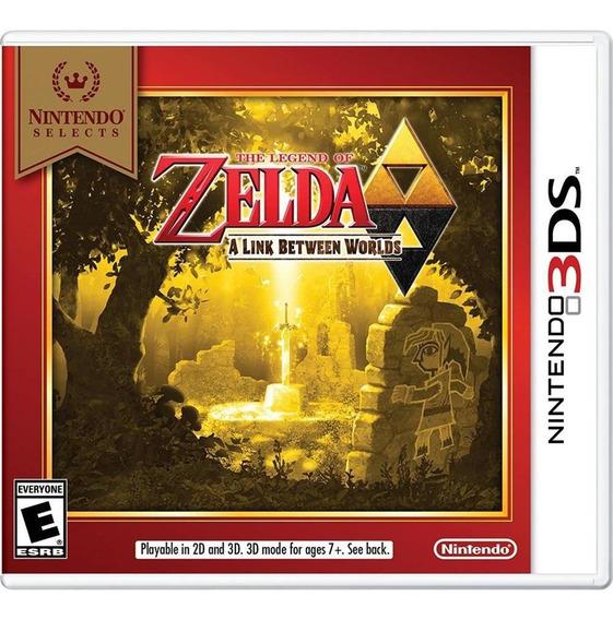 The Legend Of Zelda A Link Between Worlds 3ds Mídia Física