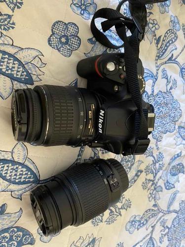 Máquina Fotográfica Nikon Ds3200 Com 2 Lentes
