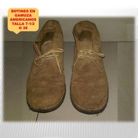 Zapatos Deportivos Botin Gamuza Caballeros Talla 7.5