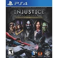 Injustice Gods Among Ultimate Edition Ps4