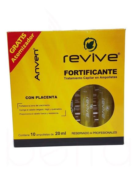 Caja De Ampolleta Fortificante Revive Anven C/10 20 Ml