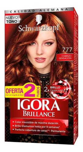 Tinte Cabello Igora Brillance Permanente