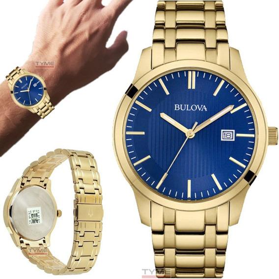 Relógio Bulova Masculino Dress Dourado Wb22444z 97b156 - Nfe
