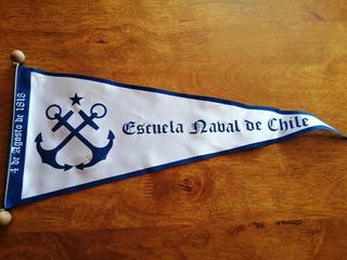 Banderin Escuela Naval Chile