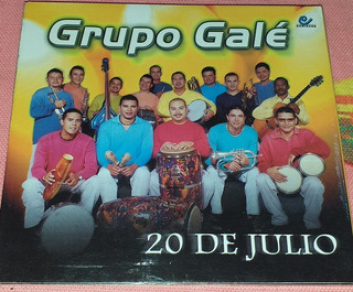 Grupo Gale 20 De Julio Salsa Cd Niche Titanes Misma Gente