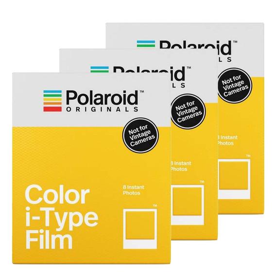 3x Filme Polaroid Originals I - Type Triple Pack