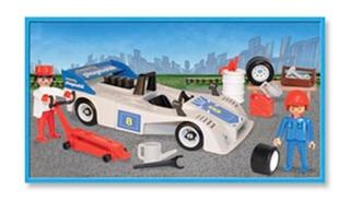 Playmobil Formula 1 Blanco 3738 Full