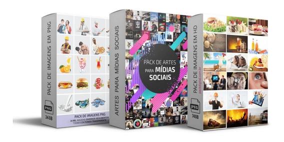 Pacote Pack Design Mídia Sociais Atualizado Envio Imediato!