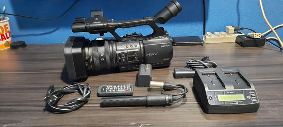 Filmadora Sony Hvr-z5n Hdv Profissional 1080 Para Hdmi Limpa
