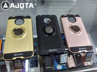 Forro Ajota Anillo Motorola Moto E4 Plus Americano Y Europeo
