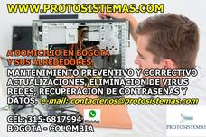 A Domicilio En Bogota Mantenimiento De Computadores.
